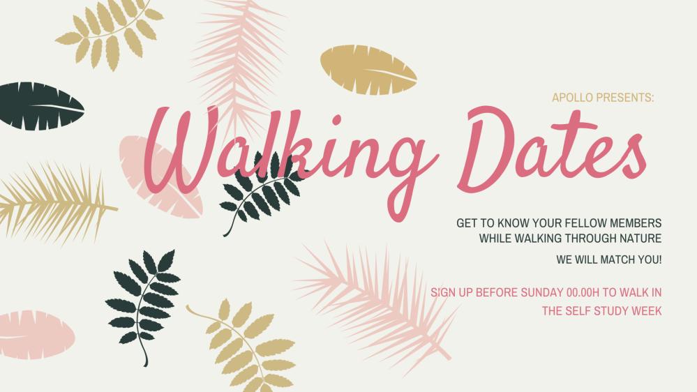 Walking Dates