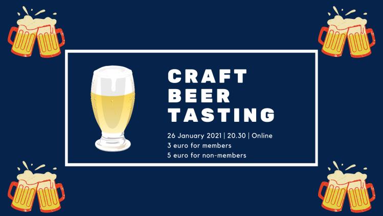 Craft beer tasting banner