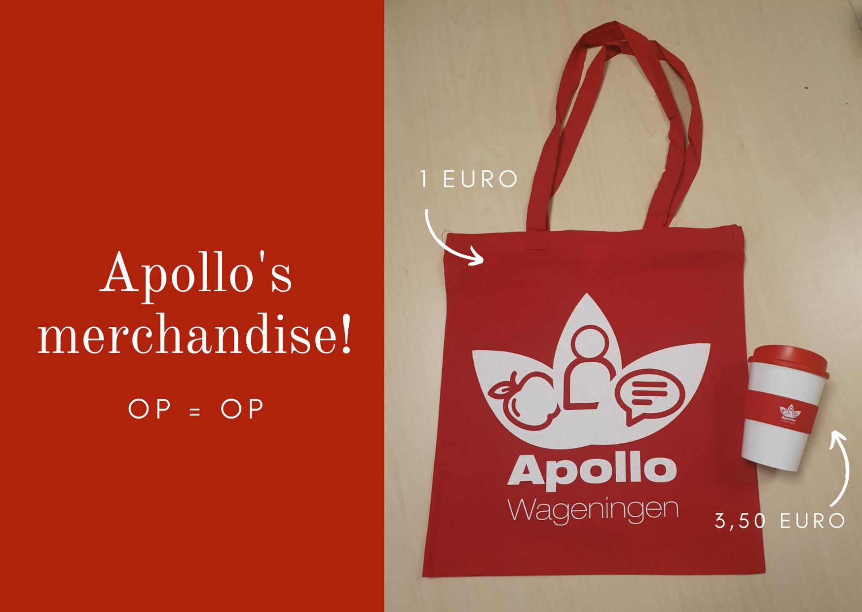 Apollo's merchandise!